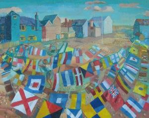 H-Flags on the Foreshore, Rye