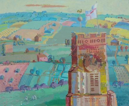 H-Halesworth Church and Landscape